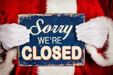 During Christmas Holidays, the agency will be closed from December 25th to January 1st