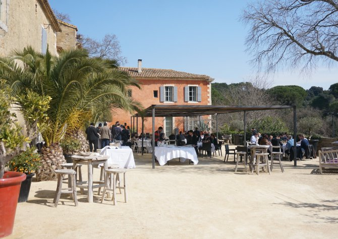 Unusual seminar in the Garrigue