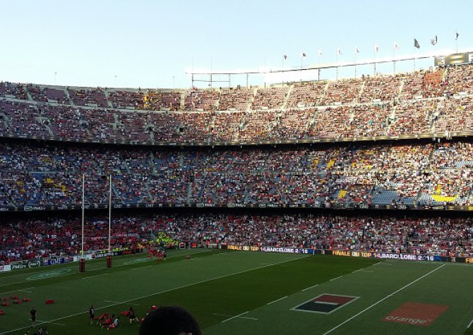 Final of Top 14 in Barcelona - June 2016 - 22 persons