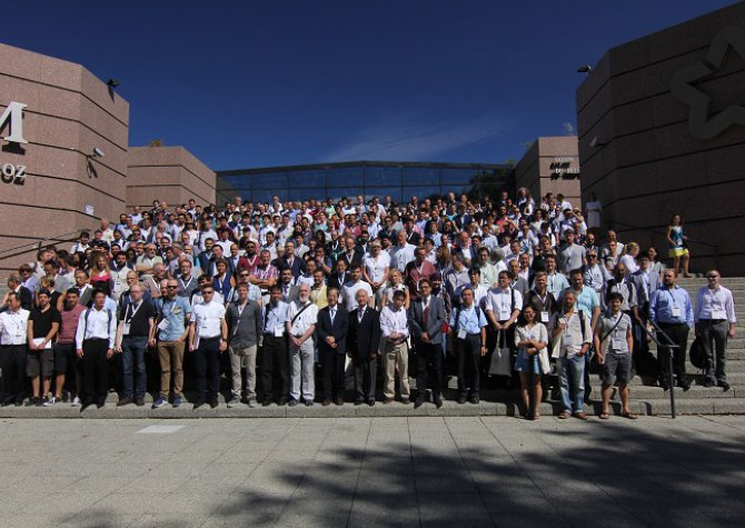 "International Congress in Montellier, more than 400 people ""The 19th International Conference on Molecular Beam Enitaxy"""