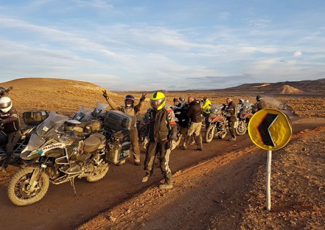 Exceptional trip in Argentina and Bolivia with.. BMW moto.