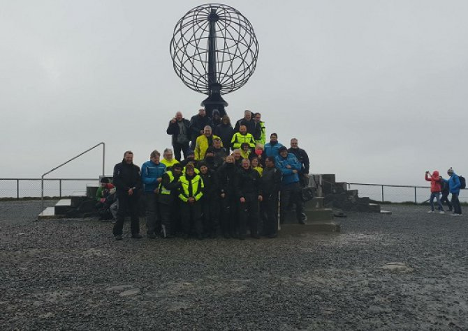 SUCCESSFUL NORTH CAPE FOR BMW ADVENTURERS - JUNE 2018 - 32 PERSONS