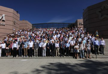 "CONGRES INTERNATIONAL A MONTPELLIER - Septembre 2016 - PLUS DE 400 PERSONNES ""The 19th International Conference on Molecular-Beam Epitaxy"""