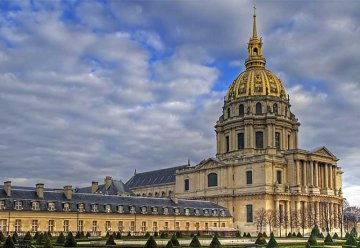 Conference in a unique place: Invalides in Paris.